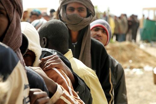 Humanitarian Aid on Egyptian Libyian Border