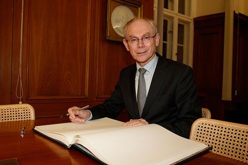 Herman Van Rompuy - source EC Flickr