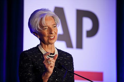 IMF Lagarde - source IMF