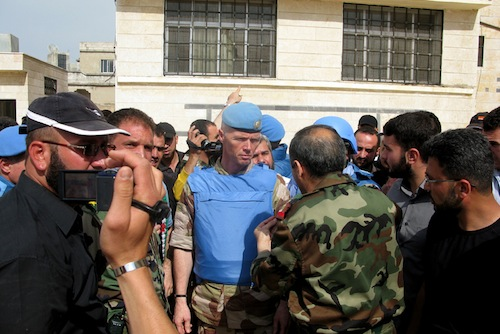 Chief UN Observer Syria - source UN