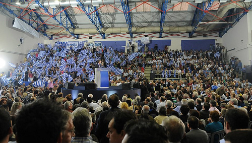 Elections rally - source ND Flickr