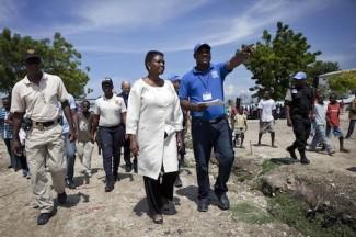 USG of OCHA visits Haiti