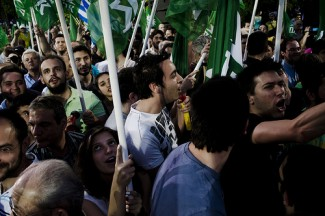 Rally politics - source PASOK Flickr