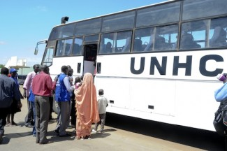 First batch of strained South Sudanese in Kosti arrived Juba.