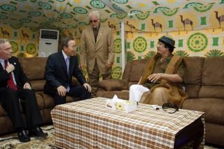 Secretary-General Meets Lybian President