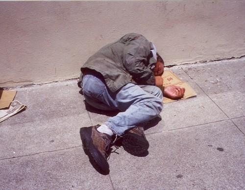 homeless mma