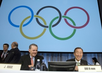 Secretary-General delivers keynote address at IOC Congress