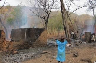 Child in Sudan - source Amnesty Int