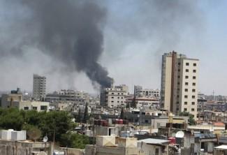 Homs Syria - source UN