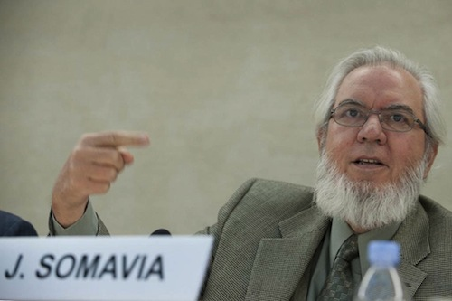 ILO chief Somavia - source ILO