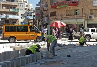 Palestinian worker - source UN
