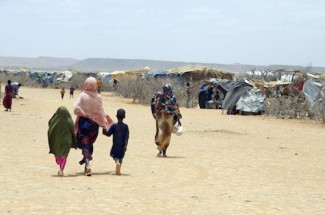 Somali Refugees in Malkadiida Refugee Camp Ethiopia.