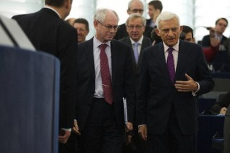 Rompuy-Juncker-Buzek - source EU