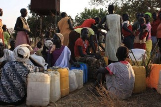 Sudan refugees - source UN