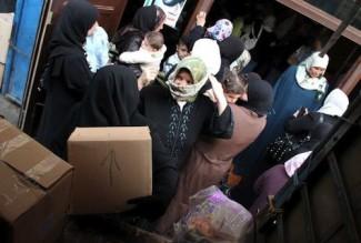 Syrian refugees - source UN