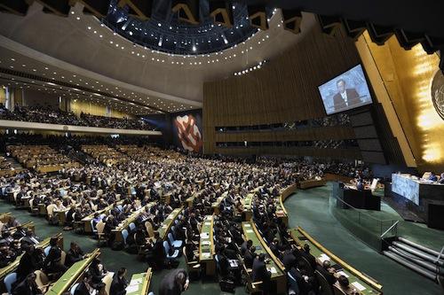 UN General Assembly - source UN