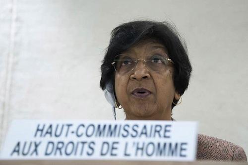 UN Human Rights Navi Pillay - source UN