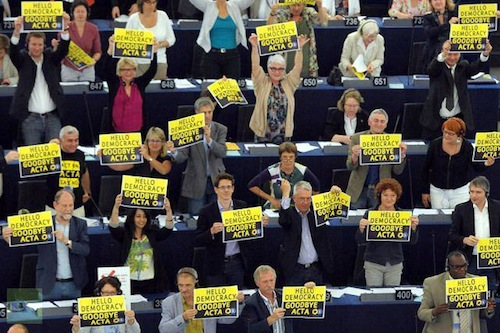 ACTA voted down EuroParliament - source EU