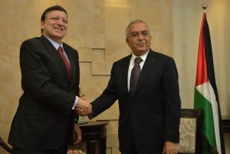 Barroso-Fayyad Palestine - source European Commission