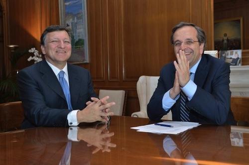Barroso-Samaras - source EU
