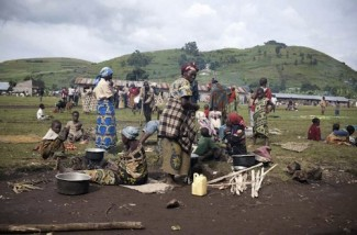 Congo regugees - source UNHCR S. Modola