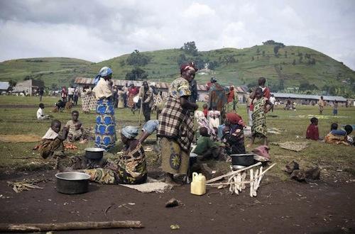 Congo regugees - source UNHCR S. Modola