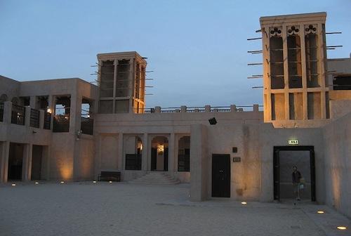 Dubai Sheikh_Makhtoum_house_courtyard - source Wikimedia Commons