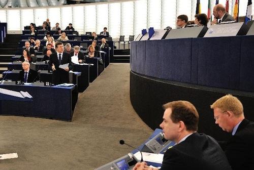 European Parliament - source EuroParliament