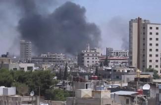 Homs Bombing - source UN