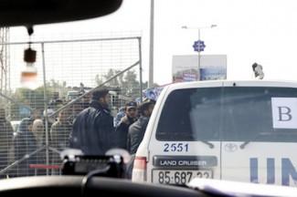 Israel-Gaza Crossing - source UN