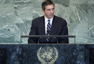 Lambrinidis - source  UN
