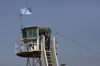 Lebanon borders - source UN
