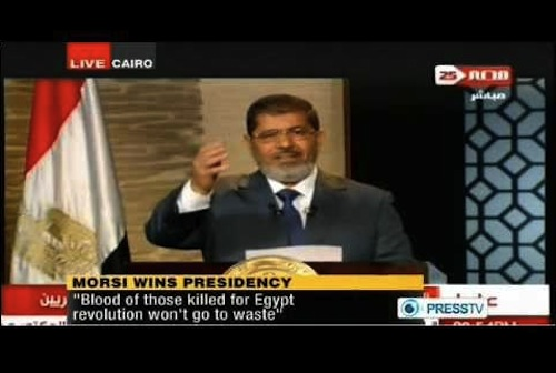 Morsy Egypt - source PRESSTV