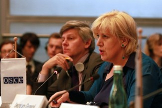 OSCE Dunja Mijatovic -  source OSCE Joana Karapataqi