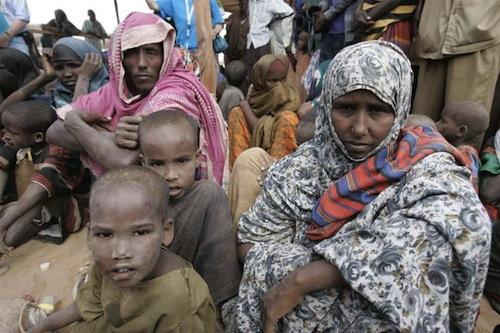 Refugees somalia - source UN