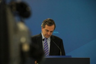 Samaras Prime Minister - source Samaras Fb