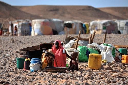 Somalia famine - source UN