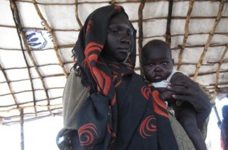 Sudan refugees - source UNHCR