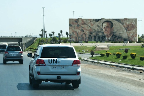 Syria UN Convoy - source UN