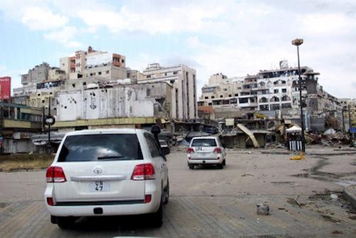 UN mission Syria - source UN