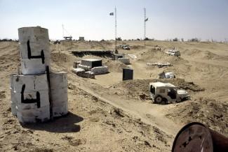 UN Truce Supervision in Palestine (UNTSO) in Israeli-occupied Sinai