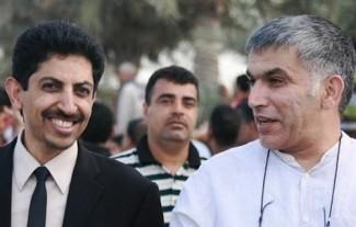 Bahrain_Abdulhadi_al-Khawaja_and_Nabeel_Rajab - source Bahrain Center for Human rights