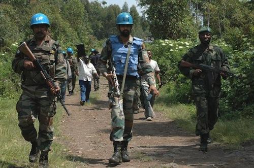 Congo - MONUSCO patrol - sosurce MONUSCO Clara Padovan