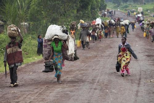 Congo Refugees - source  UN