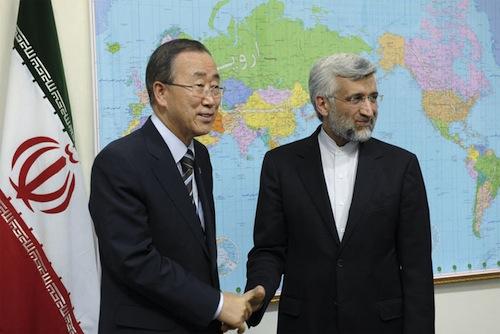 Iran Ban Ki-moon - souce UN