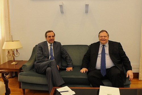 Samaras-Venizelos - source ND Flickr