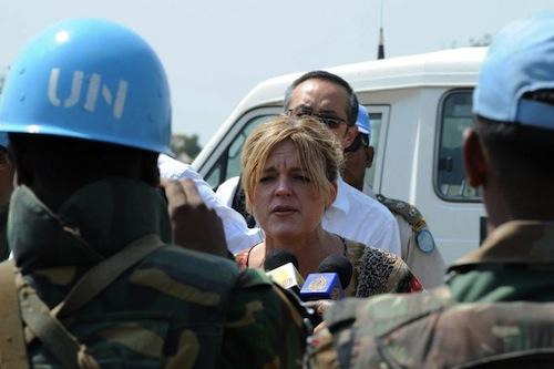 South Sudan UN Hilde Hohnson - source UN