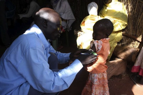 South Sudan camp - source UNHCR