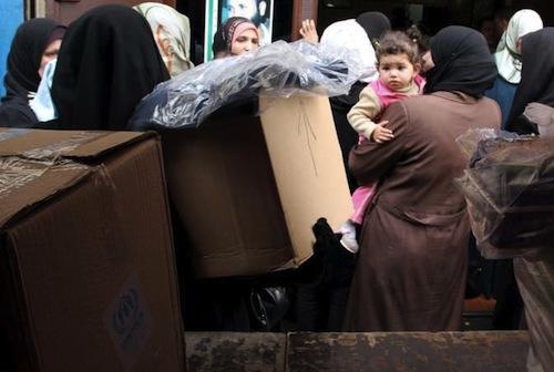 Syria refugees - source UNHCR F.Juez