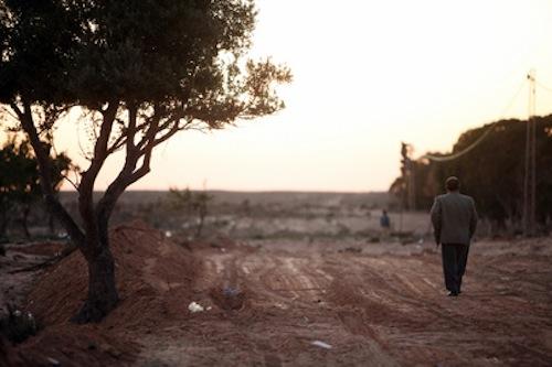 Tunisia - Libya border - source UN OCHA David Ohana